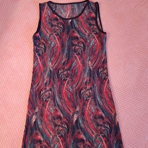 NWOT Small Painting Patterned Dress